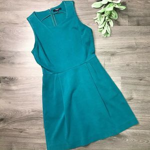 MADEWELL | sz S teal Verse fit and flare dress